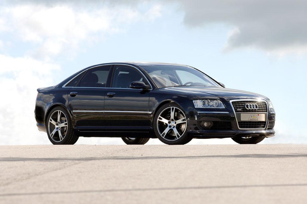 Abt Sportsline bietet nun weitere Tuningkomponenten für den Audi A8 an: