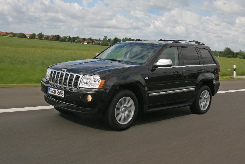 der tuningblogger jeep grand cherokee overland. Black Bedroom Furniture Sets. Home Design Ideas