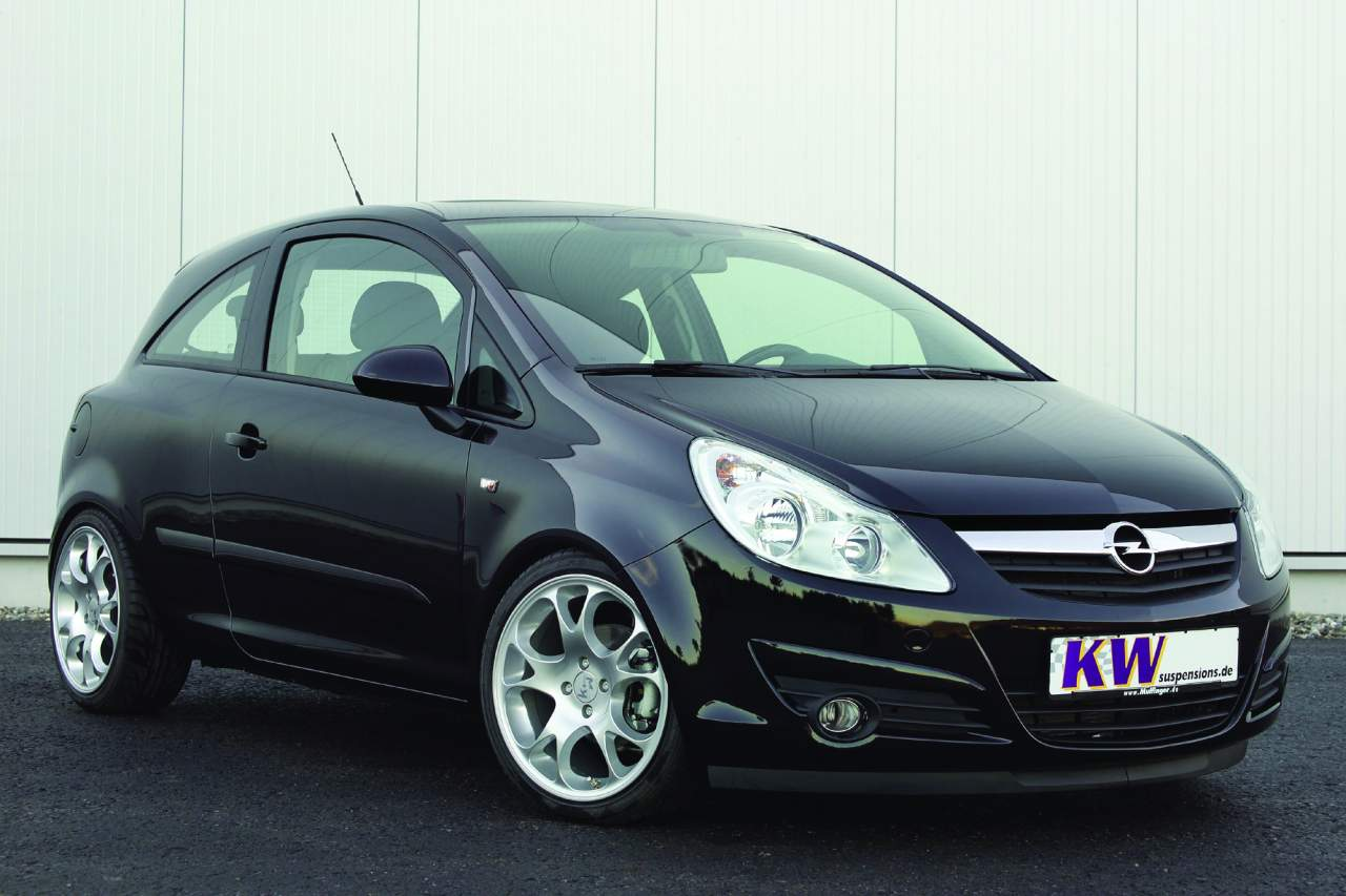 der tuningblogger neuer opel corsa d tuning kw. Black Bedroom Furniture Sets. Home Design Ideas