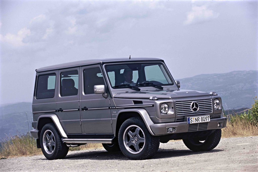 der tuningblogger mercedes g 55 amg kompressor 500 ps. Black Bedroom Furniture Sets. Home Design Ideas