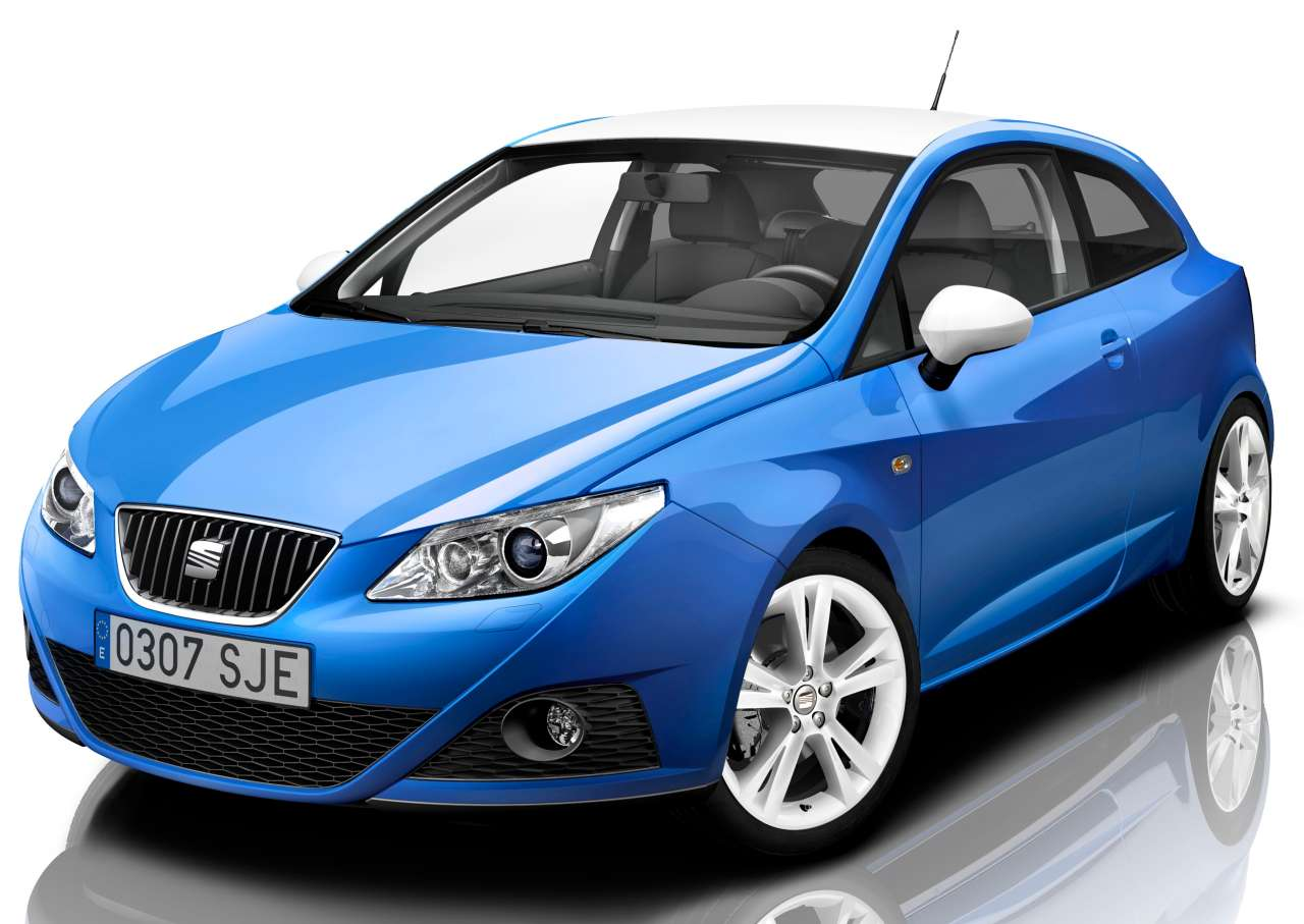 der tuningblogger seat ibiza sc color editon. Black Bedroom Furniture Sets. Home Design Ideas