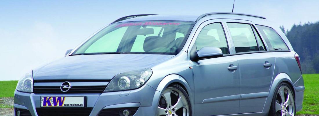 Opel Astra H Caravan/GTC Tuning | KW-Gewindefahrwerk