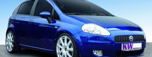 Fiat Grande Punto Tuning | KW-Sportfedern