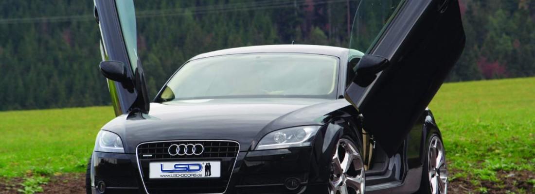 neuer Audi TT (8J) Tuning | LSD-Flügeltüren
