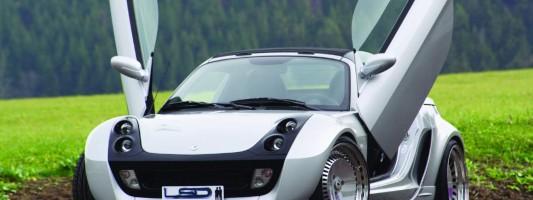 Smart Roadster Tuning | LSD-Flügeltüren