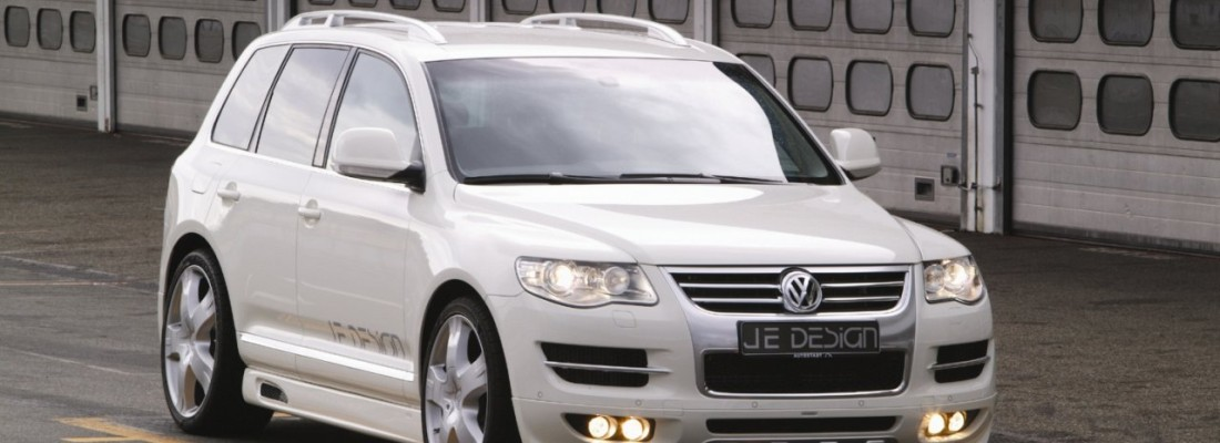 VW Touareg Facelift: Tuning von JE Design