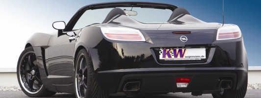 Opel GT: KW-Gewindefahrwerk V3