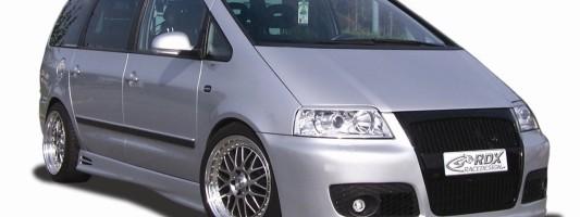 VW Sharan/Seat Alhambra: Racedesign Aerodynamik-Paket