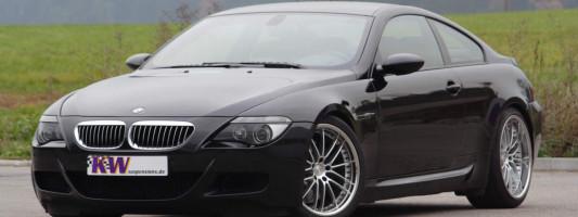 BMW M6 Tuning | KW Gewindefahrwerk