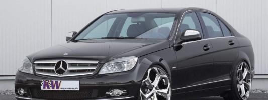 neue Mercedes C-Klasse (W204) Tuning von KW