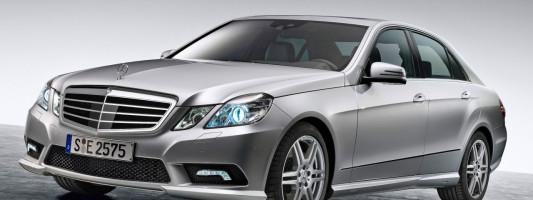 neue Mercedes E-Klasse: AMG Sport-Paket