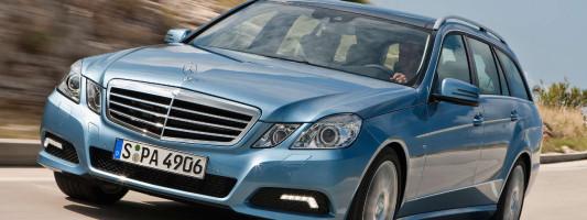 neue Mercedes E-Klasse: T-Modell (S212)