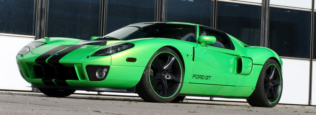 Ford GT Tuning: GeigerCars HP790