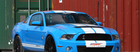 Ford Mustang Shelby GT500: GeigerCars.de Tuning