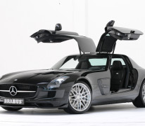 Brabus Mercedes SLS AMG Tuning