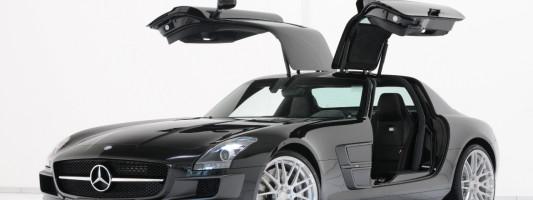 Brabus Mercedes SLS AMG Tuning
