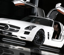Mercedes SLS AMG von Inden Design