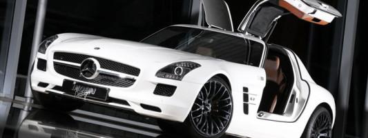 Mercedes SLS AMG von Inden Design