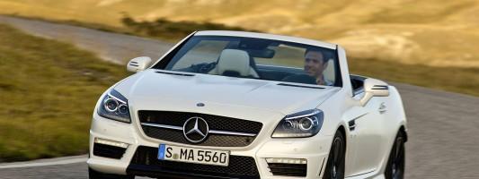 neuer Mercedes SLK 55 AMG