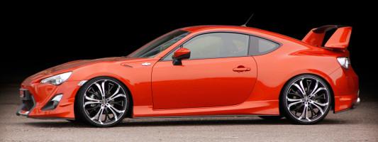 Toyota GT86 Tuning: Barracuda Felgen