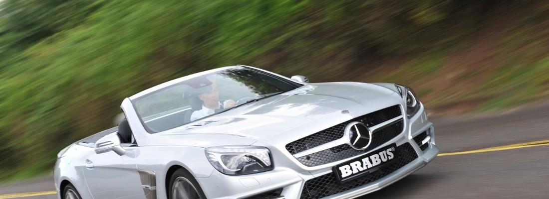 Brabus Mercedes SL (R231) Tuning
