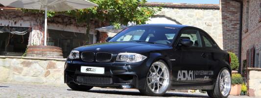 ATT-TEC Tuning: BMW 1er M Coupe mit ADV1 Felgen