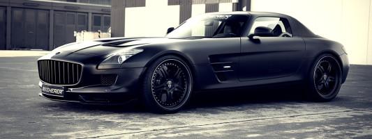 Kicherer Mercedes SLS AMG Tuning