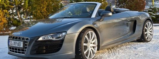 B und B Audi R8 V10 R-Tronic Tuning: 628 PS