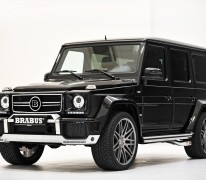 Mercedes G 63 AMG: Brabus Tuning