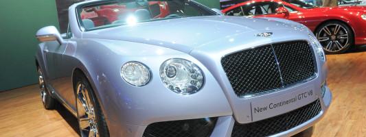 Der neue Bentley Continental GTC als V8