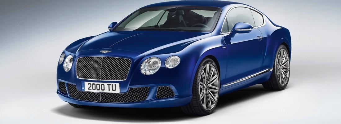 neuer Bentley Continental GT Speed
