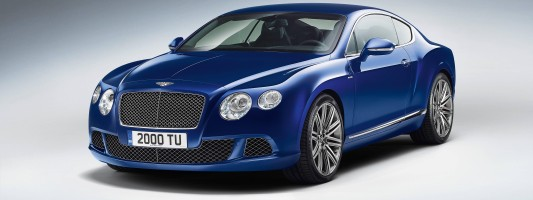 neuer Bentley Continental GT Speed
