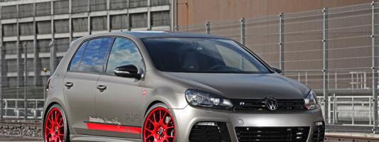 VW Golf R: Tarnkappen Folierung
