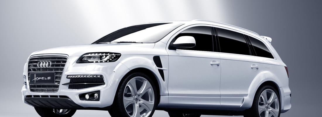 Hofele Audi Q7 Facelift Tuning