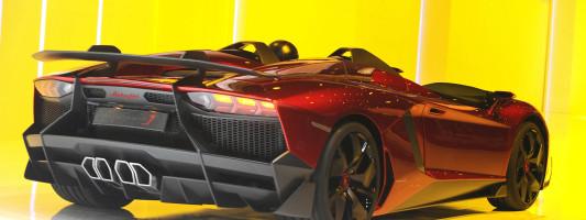 Lamborghinis Aventador J