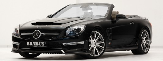 Brabus 800 Roadster | Mercedes SL Tuning