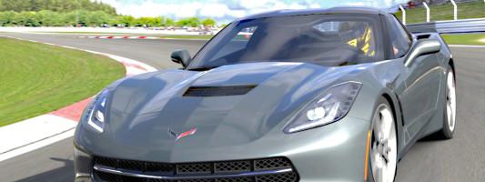 Corvette C7 Coupé: Präsentation von Geiger