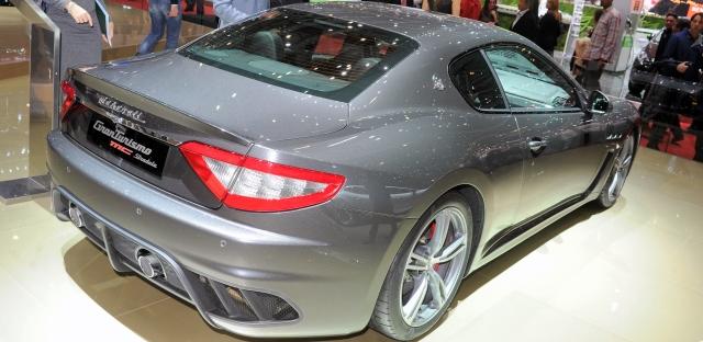 Maserati GranTurismo MC Stradale als Viersitzer