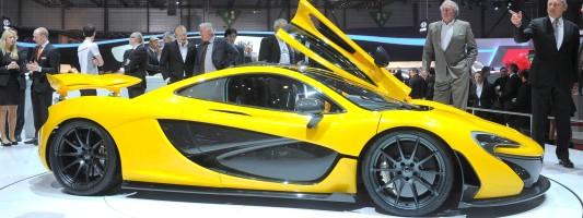 McLaren P1 Plug-in-Hybrid