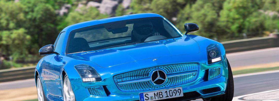 "Mercedes SLS AMG ""Electric Drive"" mit Elektro-Antrieb"