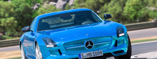 "Mercedes SLS AMG ""Electric Drive"" mit Elektro-Antrieb"
