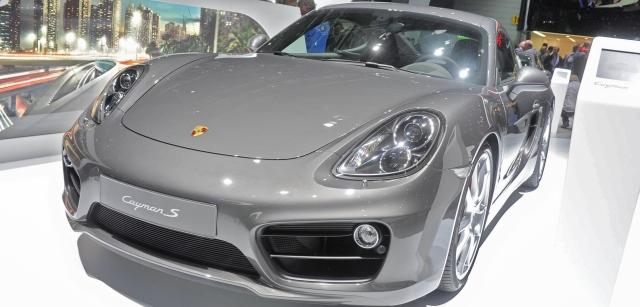 Der neue Porsche Cayman (981)
