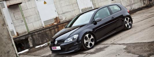 VW Golf VII Tuning: Tieferlegung von KW
