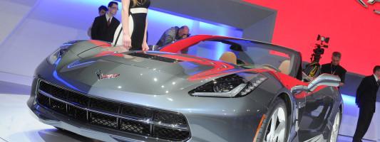 neue Corvette Stingray als Cabrio