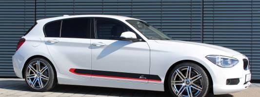neuer BMW 1er: Tuning von Lumma Design