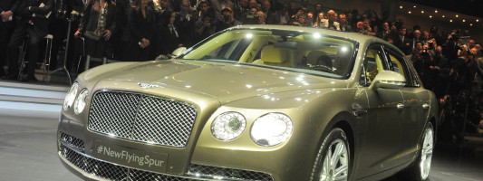 neuer Bentley Continental Flying Spur (Facelift)
