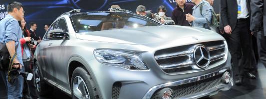 Auto Shanghai 2013: Mercedes zeigt den GLA