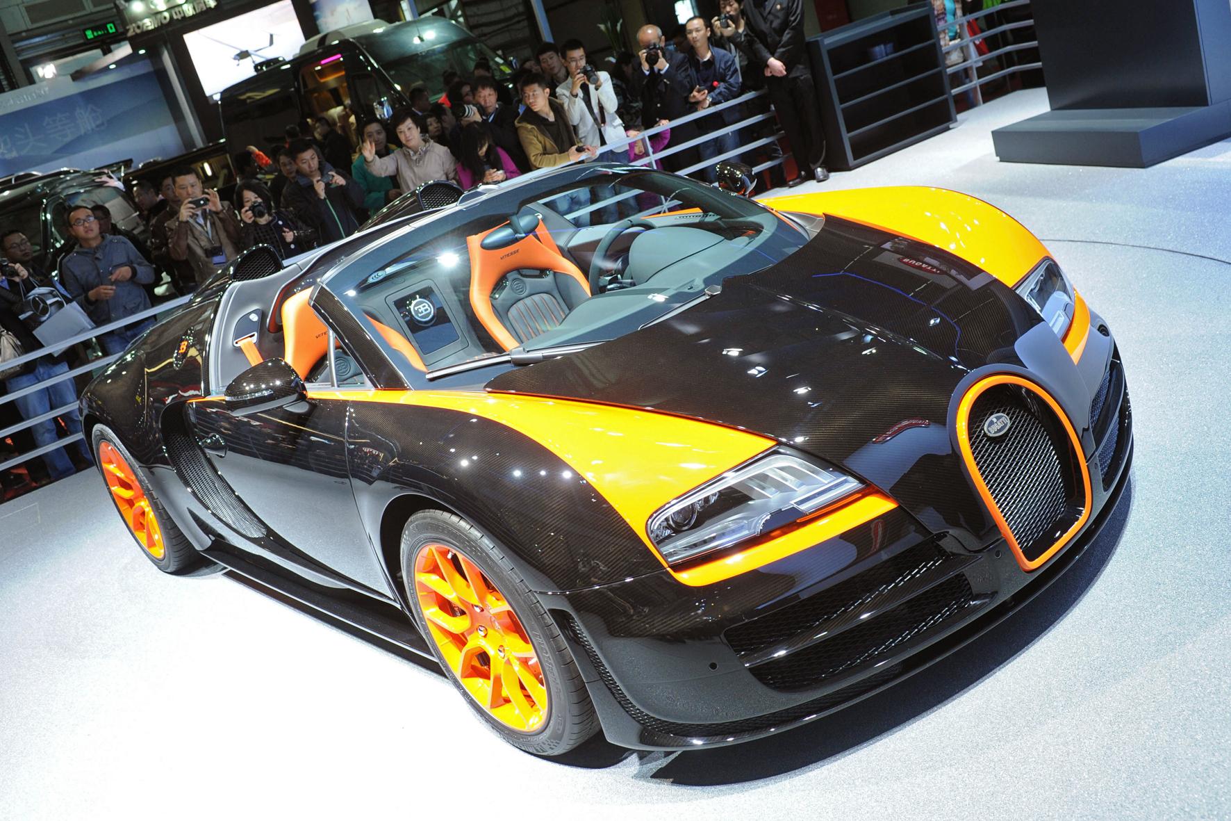 der tuningblogger bugatti veyron 16 4 grand sport vitesse auto shanghai 1. Black Bedroom Furniture Sets. Home Design Ideas
