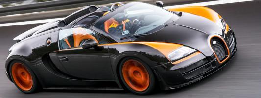 Bugatti Veyron Grand Sport Vitesse: neuer Weltrekord