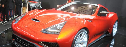 Icona Vulcano: Design-Studie auf der Auto Shanghai